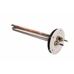Flanšinis el.šildymo elementas 2 kW, 230 V, (nuo 200 l)