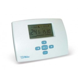 Elektron. kambario termostatas MILUX-LCD daily,3x1,5 V 0403560