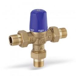 MMV-C15 termostatinis pamaišymo vožtuvas DN15 iš.sr. 30-65°C, 0559415