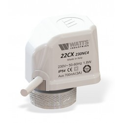 Elektoterminė pavara 22CX,230V NC stiebo eiga3.5mm Watts