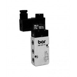 BAR 5/2-way NAMUR solenoid valve type NM-521-H-24/DC-EEx
