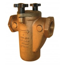 125-B Mueller Steam Specialty Class 125 Cast Aluminum Bronze Screwed End Simplex Basket Strainers