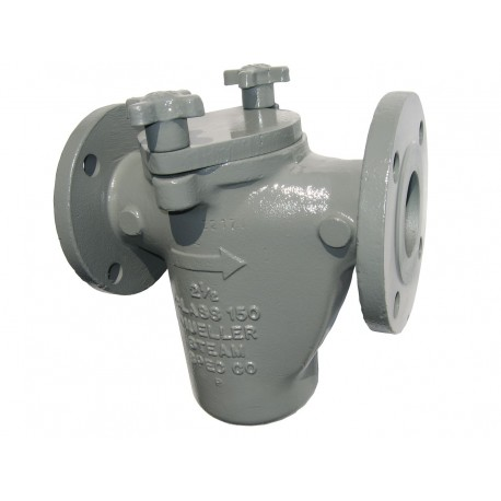 125F-CS Mueller Steam Specialty Class 150 Cast Carbon Steel Flanged End Simplex Basket Strainers