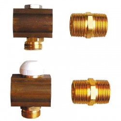 1 šakos  kompl. reguliuojamas kolektorius DN25 Herz1853193