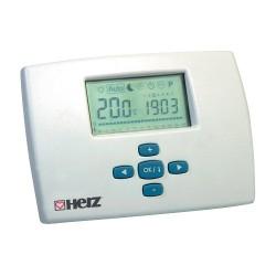 Sieninis termostatas programuojamas 7795MILUX (laidinis )5-35°C, Herz1779501