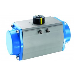 BAR AG Turn Double Acting Actuator GD-125/090-F07/F10-V22-