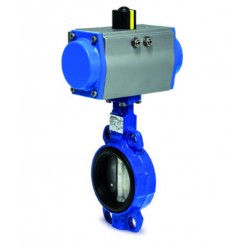 BAR PZDS double acting operated butterfly valve DN 32 PZDS-032-BCA-016-K1-GD-040 30010818