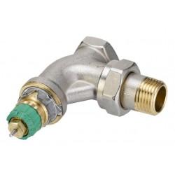 Automatinis termostatinis vožtuvas DN15,kampinis ,v/iš,Kvs 25-135l/h,, RA-DV 013G7713