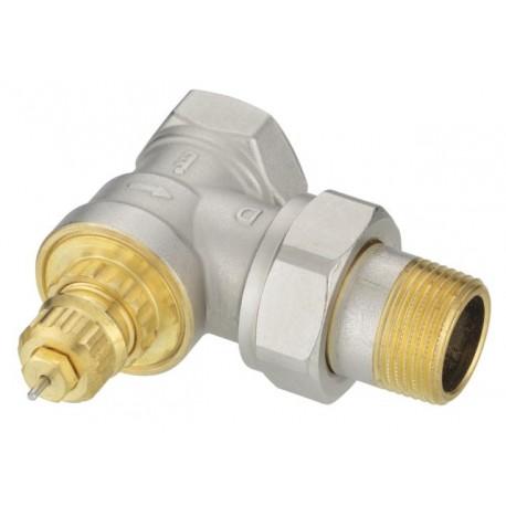 Padidinto pralaidumo termostatinis vožtuvas DN15,kampinis,v/iš, Kvs 5.01, RA-G 013G1678