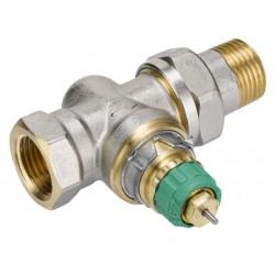 Automatinis termostatinis vožtuvas DN15,tiesus ,v/iš,Kvs 25-135l/h,su išanks. nust. RA-DV 013G7714